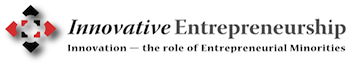 Innovative entrepreneurship logo